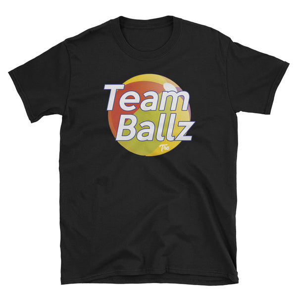 Team Ballz Short-Sleeve Tee by Triggered Tro
