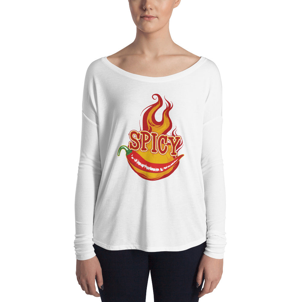 Spicy Ladies' Long Sleeve Tee