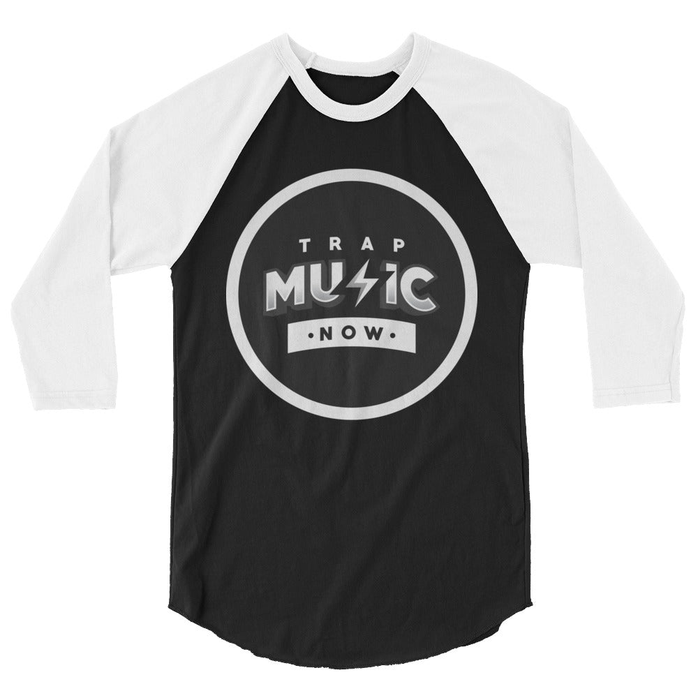 Trap Music Now 3/4 Sleeve Raglan Shirt