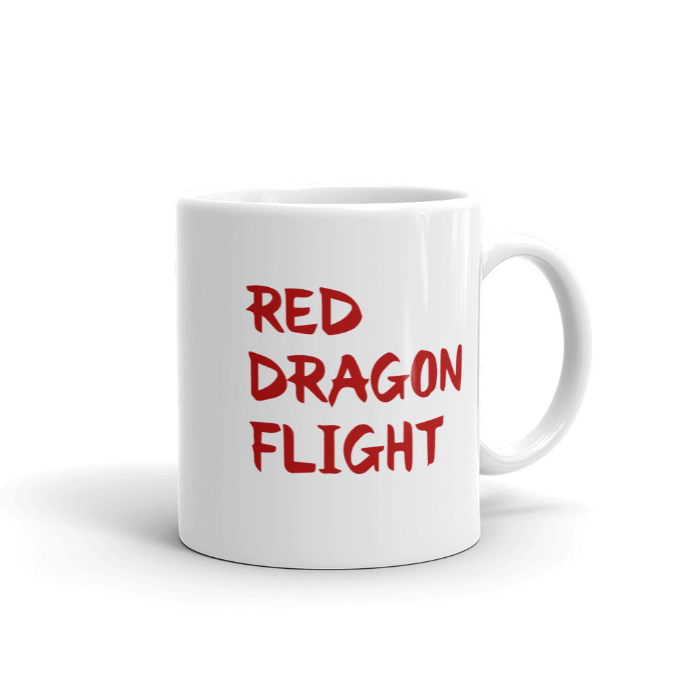 Alliestrasza Red Dragon Flight Mug