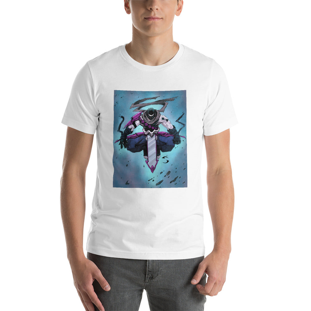 Wraith Floating Unisex Tee by Sycra