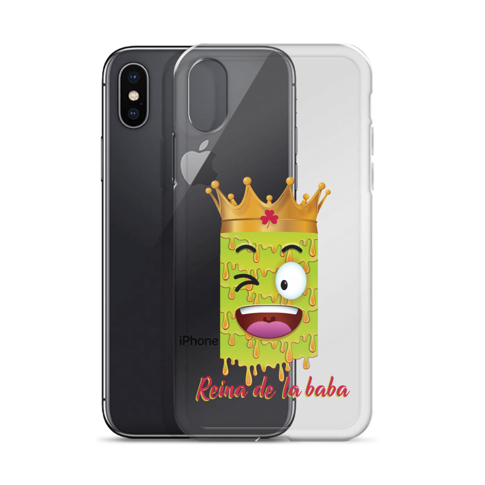 Reina de la baba iPhone Case by Diver+