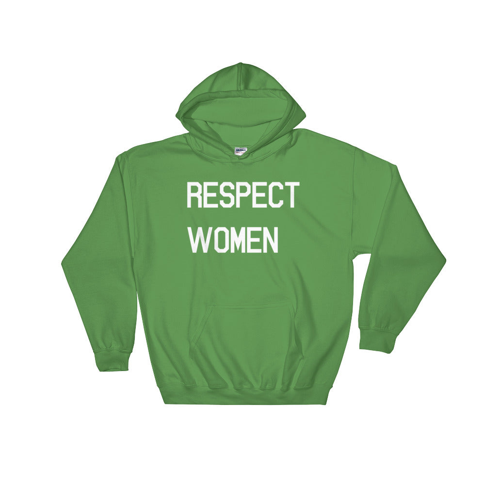 Respect Women Hooded Sweatshirt - Control the Board