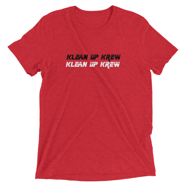 Klean Up Krew Text  Short sleeve t-shirt