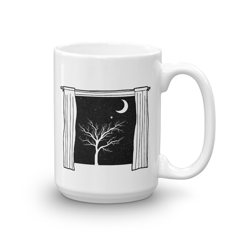 Starry Starry Night Coffee Mug by PJ Dreams