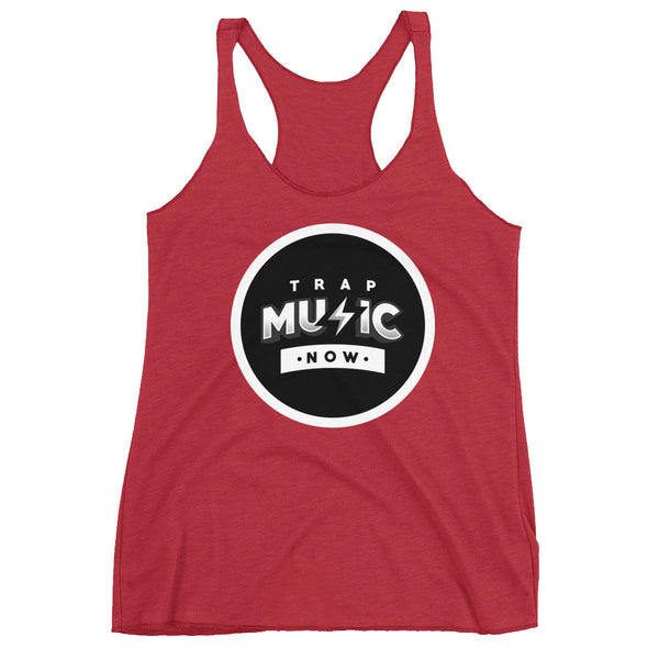 Trap Music Now Women's Racerback Tank