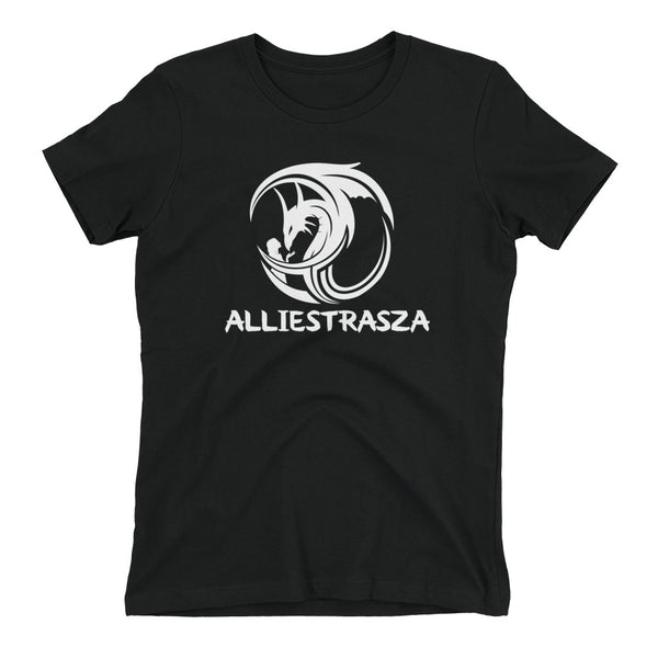 Women's t-shirt - White Dragon