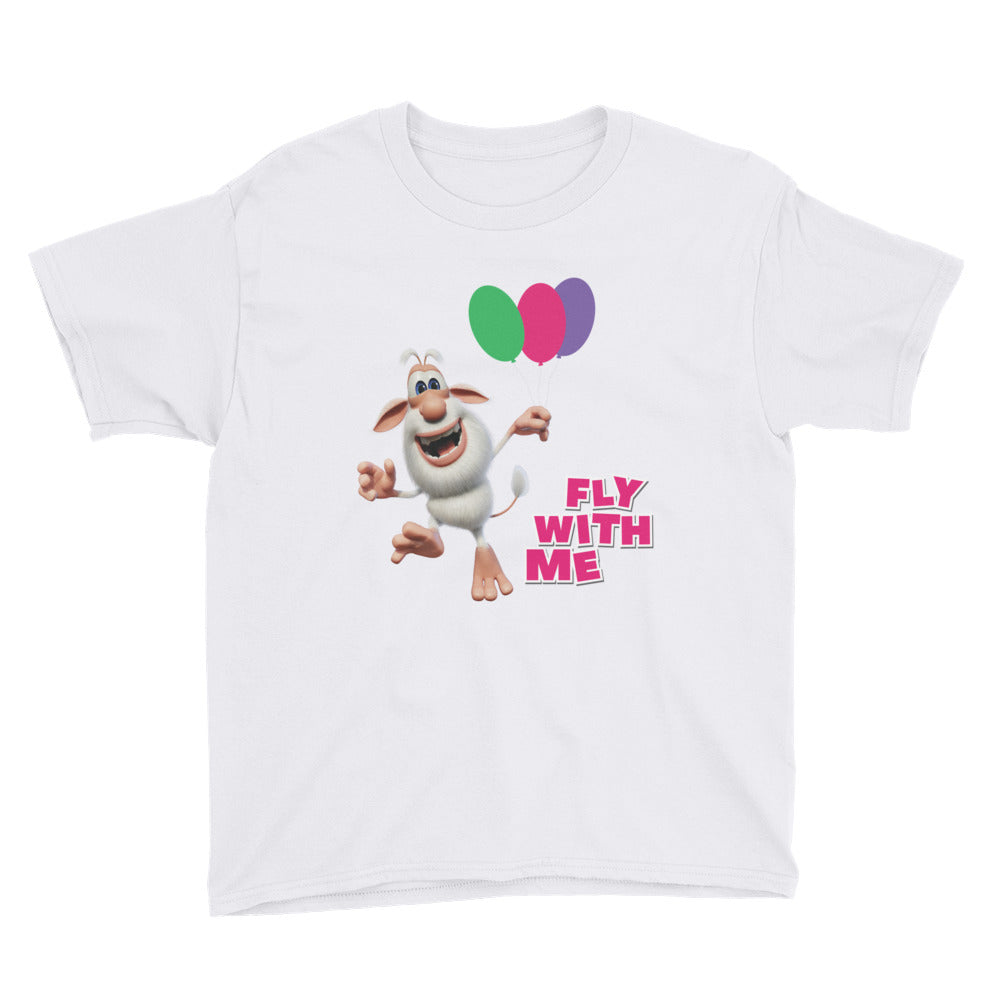 Fly With Me Youth Short Sleeve T-Shirt