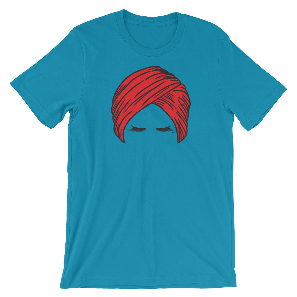 Turban Lashes Unisex T-Shirt by hanan Beauty