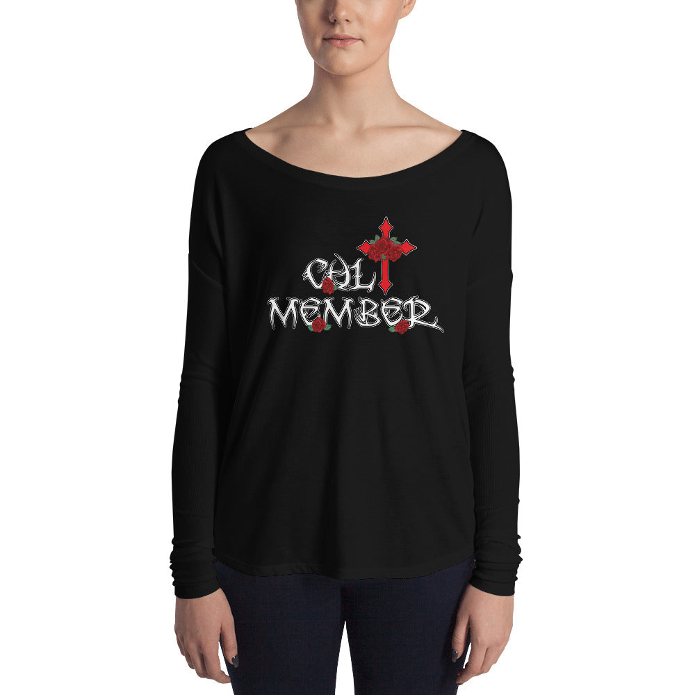 Cult Member Ladies' Long Sleeve Tee