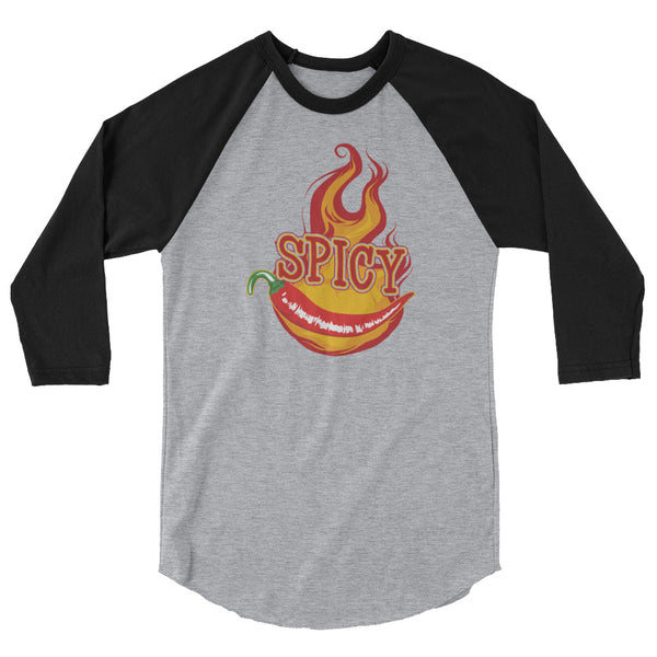 Spicy 3/4 Sleeve Raglan Shirt