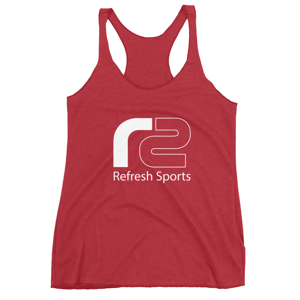 Women's Racerback Tank by Refresh Sports