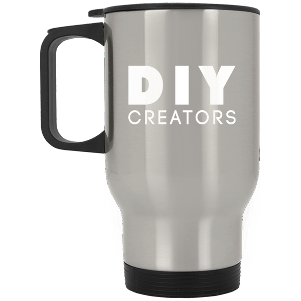 DIY Creators Silver Stainless Travel Mug
