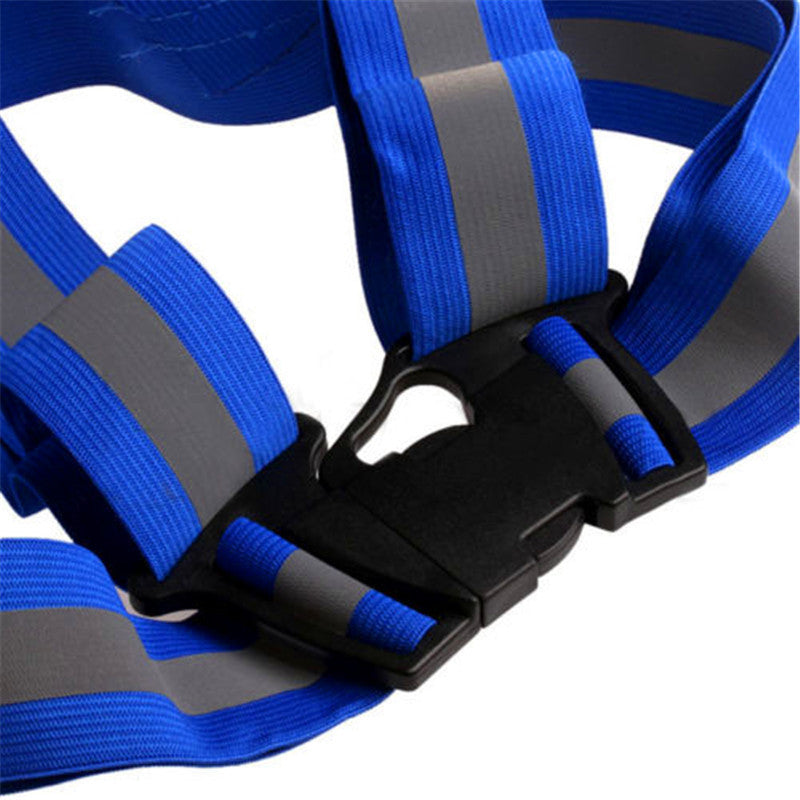 High Visibility Running Safety Straps