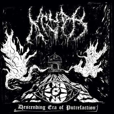 "Buy – Krypts ‎""Descending Era Of Putrefaction"" CD – Band & Music Merch – Massacre Merch"