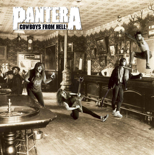 "Pantera ""Cowboys From Hell"" CD"
