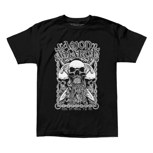 "Buy – Amon Amarth ""Bearded Skull"" Shirt – Band & Music Merch – Massacre Merch"