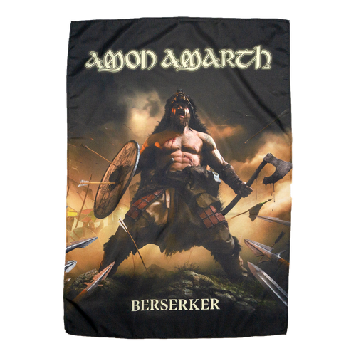 "Buy Now – Amon Amarth ""Berserker"" Flag – Massacre Merch"