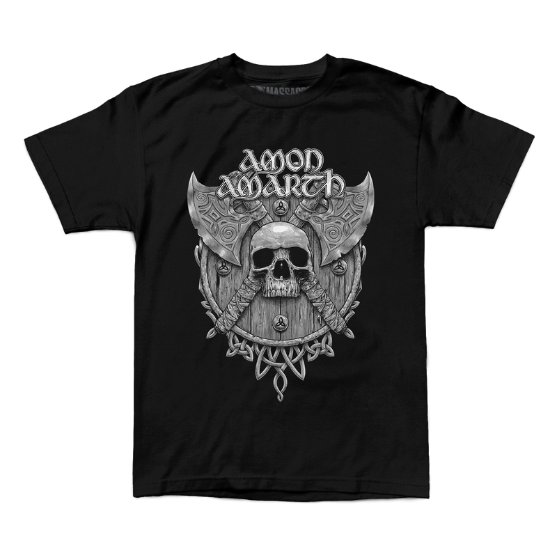 "Amon Amarth ""Grey Skull"" Shirt"
