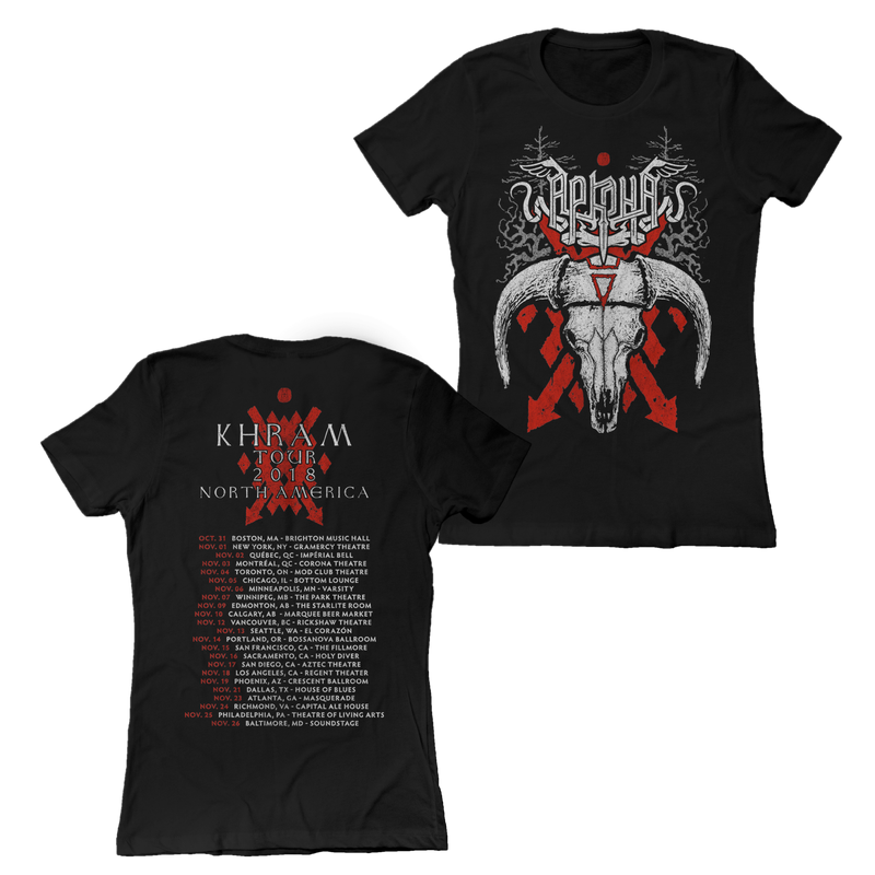 "Buy – Arkona ""Bull Tour"" Womens Shirt – Band & Music Merch – Massacre Merch"