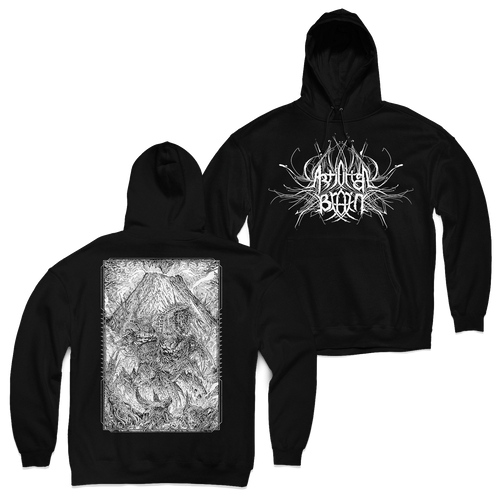"Buy – Artificial Brain ""Mountain"" Hoodie – Band & Music Merch – Massacre Merch"
