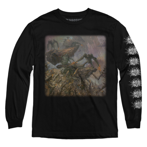 "Buy – Artificial Brain ""Cyborg Zombie"" Long Sleeve – Band & Music Merch – Massacre Merch"