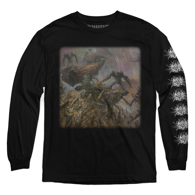 "Artificial Brain ""Cyborg Zombie"" Long Sleeve"