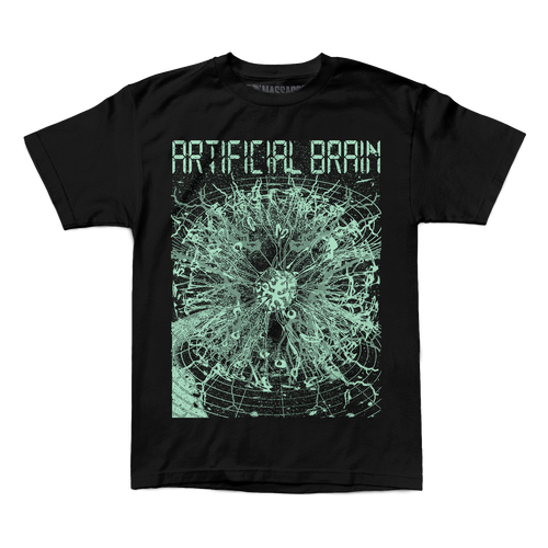 "Buy – Artificial Brain ""Digital"" Shirt – Band & Music Merch – Massacre Merch"