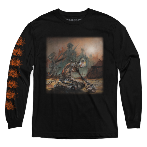 "Buy – Artificial Brain ""Infrared Horizon"" Long Sleeve – Band & Music Merch – Massacre Merch"