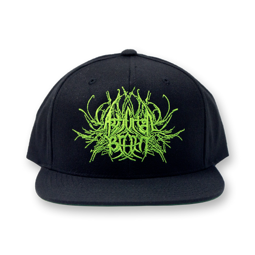 "Buy – Artificial Brain ""Symmetry Logo"" Snapback – Band & Music Merch – Massacre Merch"