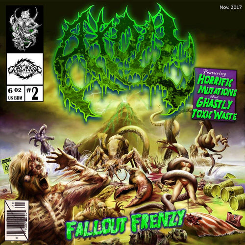 "Buy Now – Atoll ""Fallout Frenzy"" CD – Massacre Merch"