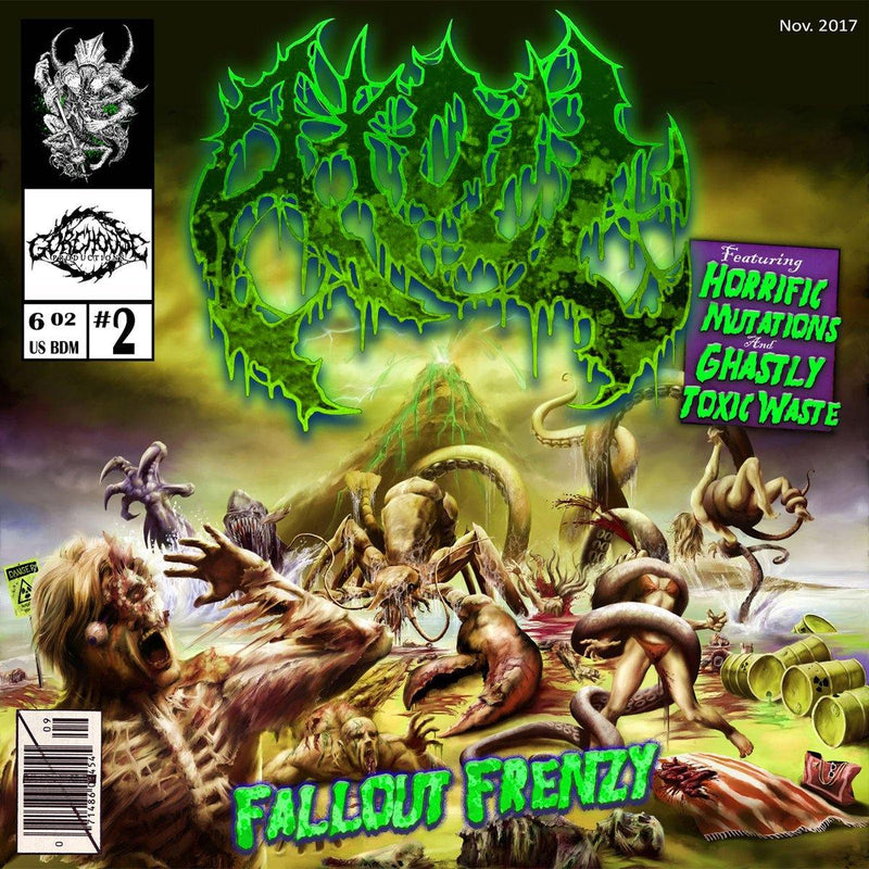 "Buy – Atoll ""Fallout Frenzy"" CD – Band & Music Merch – Massacre Merch"