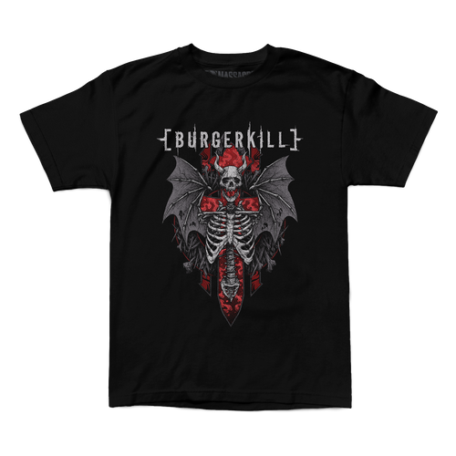 "Burgerkill ""Skeleton Wings"" Shirt"