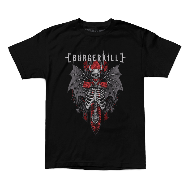 "Buy – Burgerkill ""Skeleton Wings"" Shirt – Band & Music Merch – Massacre Merch"
