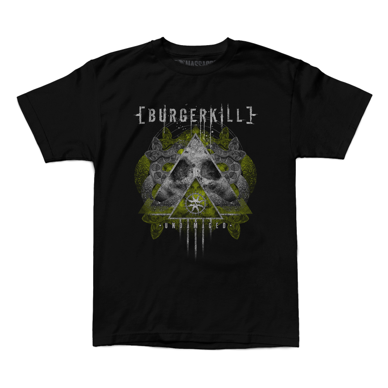 "Buy Now – Burgerkill ""Undamaged"" Shirt – Massacre Merch"