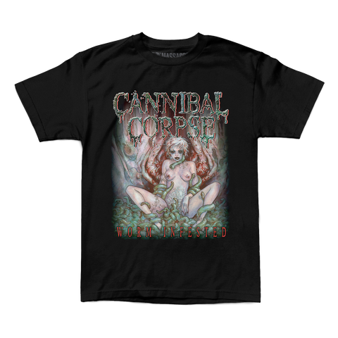 "Cannibal Corpse ""Worm Infested"" Shirt"