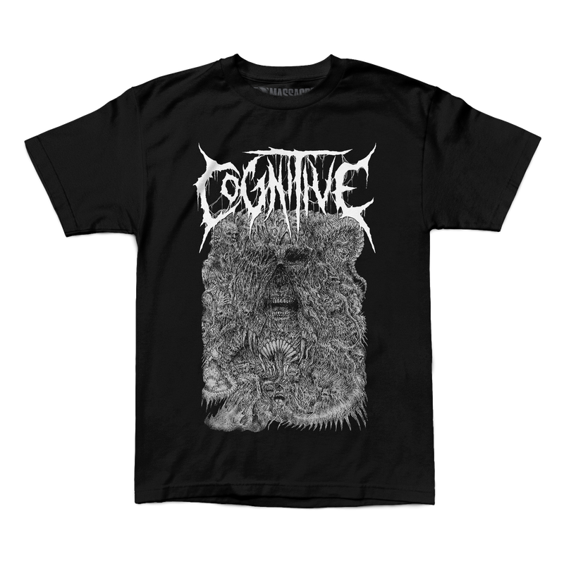 "Buy – Cognitive ""Agony"" Shirt – Band & Music Merch – Massacre Merch"