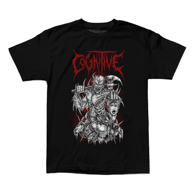 "Buy – Cognitive ""Hunter"" Shirt – Band & Music Merch – Massacre Merch"