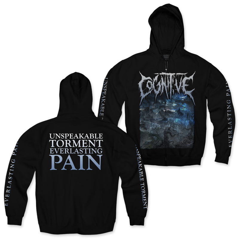 "Cognitive ""Matricide"" Zip-Up Hoodie"