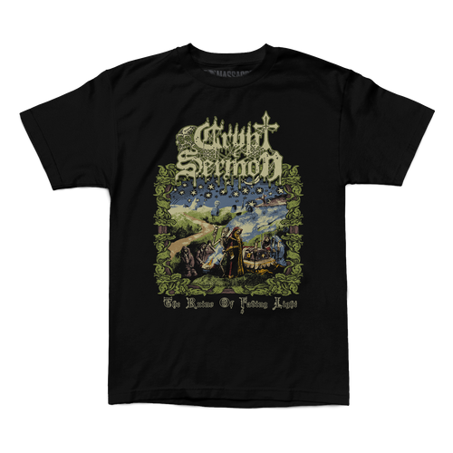 "Buy – Crypt Sermon ""Ruins"" Shirt – Band & Music Merch – Massacre Merch"