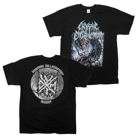 "Cryptic Enslavement ""Perverse Hallucinatory Descent"" Shirt"