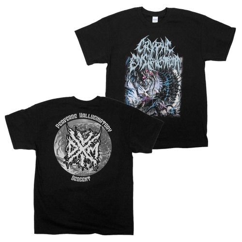 "Buy – Cryptic Enslavement ""Perverse Hallucinatory Descent"" Shirt – Band & Music Merch – Massacre Merch"