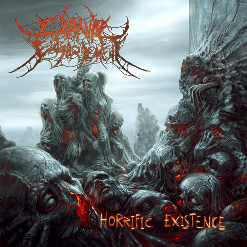 "Buy Now – Cranial Engorgement ""Horrific Existance"" CD – Massacre Merch"