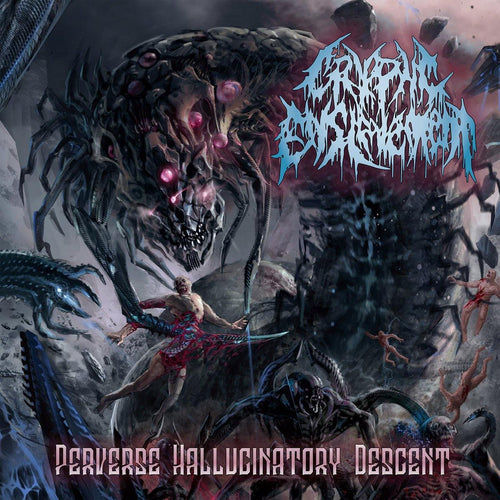 "Buy – Cryptic Enslavement ""Perverse Hallucinatory Descent"" CD – Band & Music Merch – Massacre Merch"