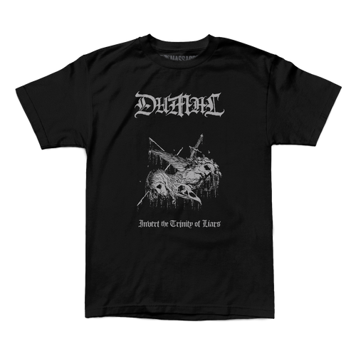 "Buy – Dumal ""Trinity Of Liars"" Shirt – Band & Music Merch – Massacre Merch"