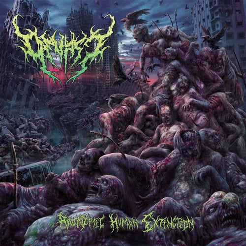 "Buy – Devast ""Apocalyptic Human Extinction"" CD – Band & Music Merch – Massacre Merch"