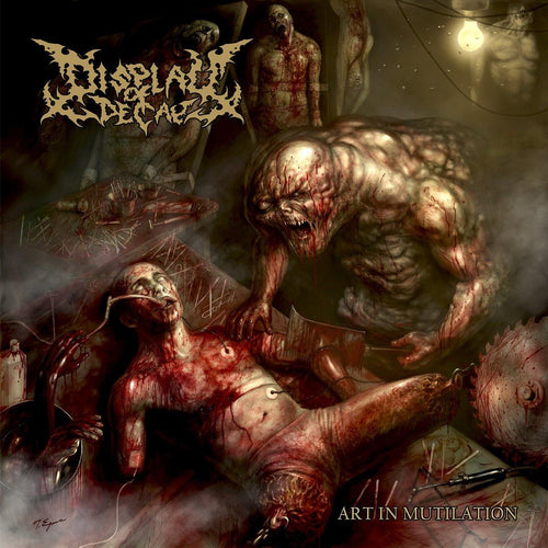 "Buy – Display of Decay ""Art in Mutilation"" CD – Band & Music Merch – Massacre Merch"