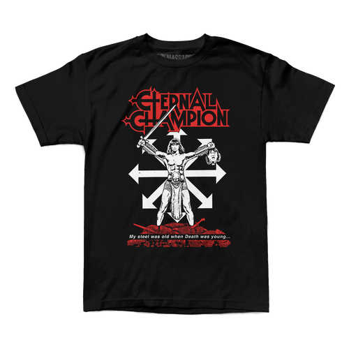 "Buy – Eternal Champion ""My Steel Was Old"" Shirt – Band & Music Merch – Massacre Merch"
