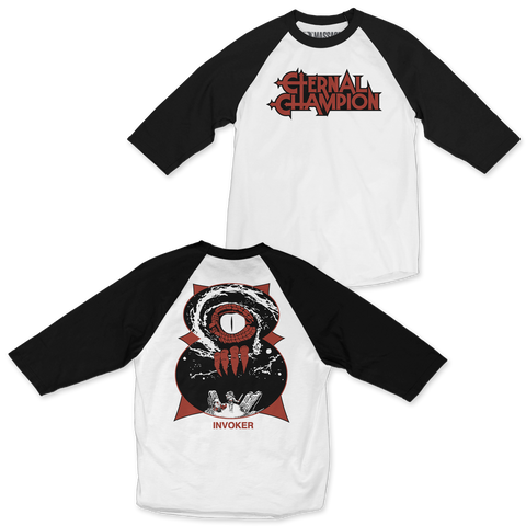 "Eternal Champion ""Invoker"" 3/4 Sleeve Raglan"