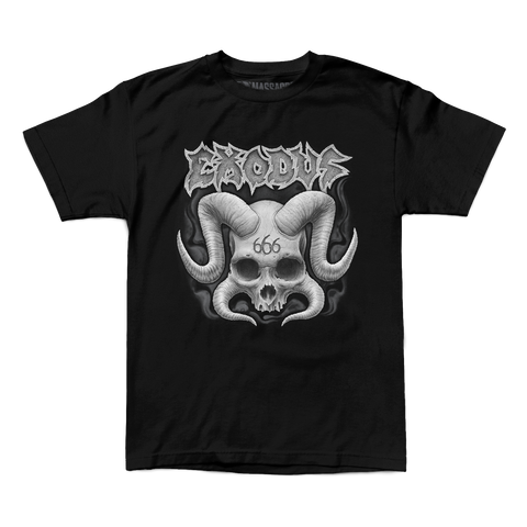 "Exodus ""Horned Skull"" Shirt"